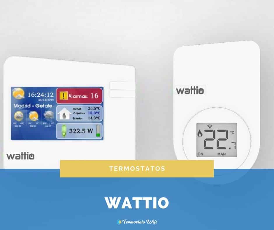 comprar termostato wattio