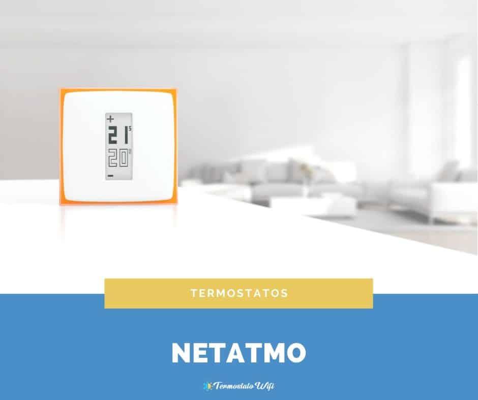 comprar termostato netatmo